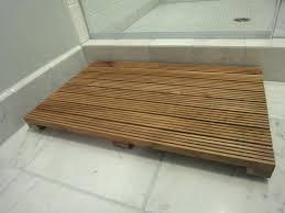 wooden shower mat room tub camping mats uk ireland wooden shower mat wood ikea diy ireland