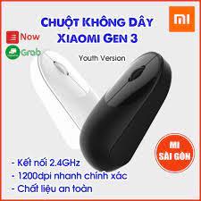 Chuột Không Dây Xiaomi Gen 3 - 2018 ( Trắng&Đen) hoặc Chuột MIIIW MWWM01