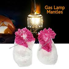 Inverted Gas Light Mantle 2019 2018 Outdoor Camping Light Lamp Lantern Mantles Lampwick Tent Camping Gas Lantern Mantles Lamp Cover Gauze Inverted Mantles From Panthers 6 7