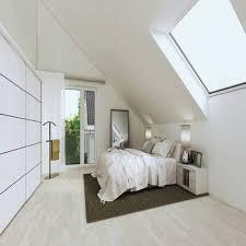 Charmant Schlafzimmer Mit Schrägen Gestalten Fotos Die Designideen