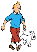 Image result for cartoon of a dog being walked in the dark