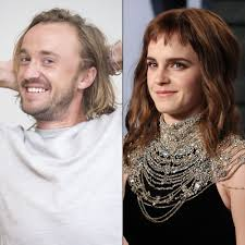 Thomas andrew felton, popularly known as tom felton, is a british actor who is known for his role of draco malfoy in the harry potter film series, in which he started appearing from the age of thirteen. Harry Potter Stars Tom Felton Emma Watson Reunite
