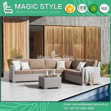 rattan weaving sofa set with cushion outdoor wicker 2 seat sofa garden wicker coffee table patio rattan side table wicker weaving sofa with sunproof fabric