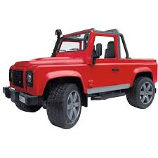 ≡ Джип <b>BRUDER</b> 1:16 <b>Land Rover</b> Defender Pick Up (02591 ...