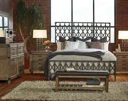 metal bedroom sets. legacy classic 4-piece metalworks crisscross metal bedroom set in factory chic sets u