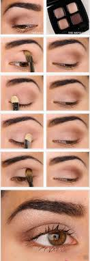 natural makeup tutorial for brown eyes