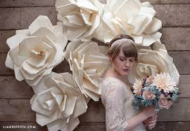 Paper Flower Wedding Decorations 6 Gorgeous Ways To Use Diy Paper Flowers For Your Wedding Sheknows