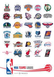 NBA Teams Logos - Vector download