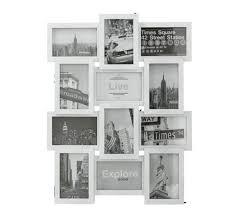home 12 aperture photo frame white