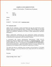 Letter Of Termination Template Stanley Tretick