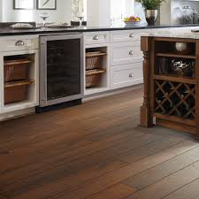 Wood Floor In The Kitchen Shaw Flooring In Kitchen Traditional With Hickory Laminate