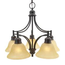 design house bristol 5 light oil rubbed bronze downlight chandelier
