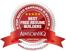 Top 6 Best Free Resume Builders 2017 Ranking Resume Builder