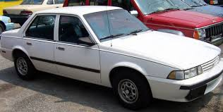 Chevrolet Cavalier 1987 photo and video review, price ...