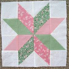 Star Flower Quilt Block | FaveQuilts.com & Star Flower Quilt Block Adamdwight.com