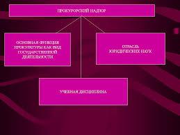 Реферат Понятие и виды прокурорского надзора Основные отрасли прокурорского надзора реферат