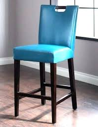 blue leather counter stools height chairs