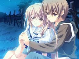 3d anime couples hugging hd wallpapers free yahoo tv