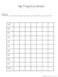 Student Progress Chart Data Notebooks Student Data