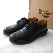 dr martens doctor martin wing tip leather shoes 3989 wingtip brogue 13844001 men s lady s
