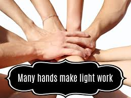 Many Hands Make Light Work These Hands Make Light Work Cigit Karikaturize Com