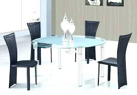 36 glass dining table breakfast for 4 medium size of black chairs extendable set sets room round to