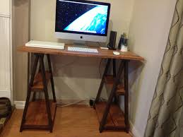 best sawhorse desk and computer desk ideas with wood sawhorse desk legs also interior paint color and with sawhorse table legs