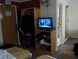 space flat screen tv
