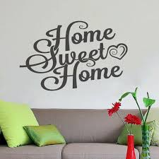 sweet home wall decor vinyl sticker decal livingroom nursery children mural art