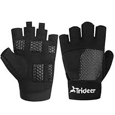 trideer weight lifting gloves breathable non slip workout glovs exercise gloves