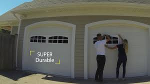 Faux Garage Door Windows Coach House Accents Garage Windows Easy Installation Time Lapse