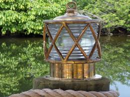 Nautical Post Lights Outdoor Dock Light Fixtures Light Fixtures