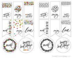 PRINTABLES :: holiday gift tags - We Are Scout