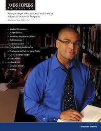 2010 2011 Academic Catalog Advanced Academic Programs By Johns