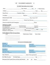 27 Images Of Medical Patient Registration Form Template Leseriail Com