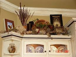 Above Kitchen Cabinet Decorations Custom Decoration