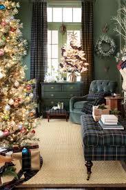 Plaid Christmas Tree Plaid Christmas Home Decor