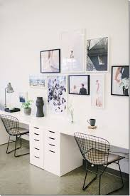 Desk For Two People Awesome Gallery Wall Over Jpg Ideas Home Pinterest In  16 ...