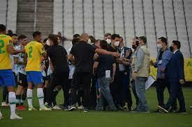 تصفيات مونديال 2022: فيفا يتوعد بقرار تأديبي بعد إيقاف مباراة البرازيل  والأرجنتين - فرانس 24