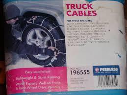 57 Judicious 265 70r17 Peerless Tire Chains Size Chart