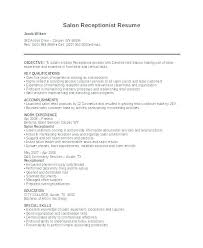 Junior Receptionist Resume Biomedical Engineers Resume Junior Civil ...