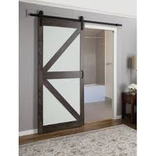 Interior frosted glass door Etched Glass Continental Frosted Glass Panel Ironage Laminate Interior Barn Door Wayfair Interior Frosted Glass Doors Wayfair