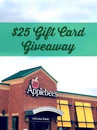 applebee s gift card giveaway