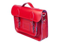 zatchels classic red leather satchel 13