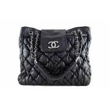 Chanel Black Large Bubble Quilt Shopper Tote Bag | MALLERIES ... & Chanel Black Large Bubble Quilt Shopper Tote Bag | MALLERIES Adamdwight.com