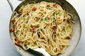 creamy bacon carbonara the recipe critic
