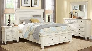 bedroom furniture storage. Interesting Storage Lake Town OffWhite 5 Pc King Panel Bedroom With Storage  Sets  Light Wood And Furniture S