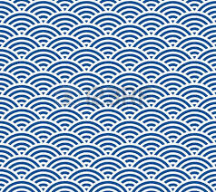 Japanese Wave Pattern