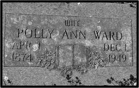Headstones: Polly Bryant Howe-Ward: Familytomb