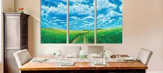 3 piece scenic canvas prints